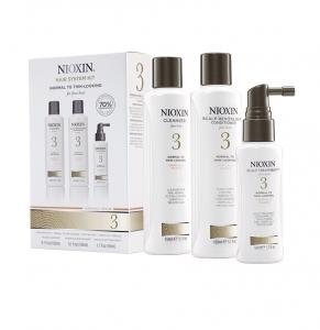 Set impotriva caderii parului Nioxin System 3, 150+150+50ml0