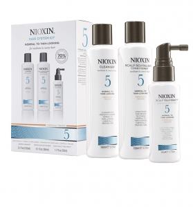 Set impotriva caderii parului Nioxin System 5, 150+150+50ml0