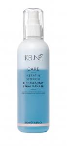 Spray bifazic cu cheratina pentru disciplinare si fortifiere Keune Care Keratin Smooth, 200 ml0