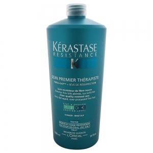 Tratament pentru par degradat Kerastase Resistence Soin Premier Therapiste, 1000 ml1