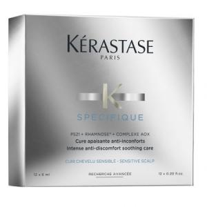 Tratament pentru scalp iritat Kerastase Specifique Cure Apaisante, 12 x 6 ml0