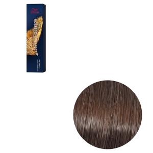 Vopsea de par permanenta Wella Professionals Koleston Perfect Me+ 5/3, Castaniu Auriu, 60 ml [0]