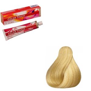 Vopsea de par semi-permanenta Wella Professionals Color Touch 10/0, Blond Luminos Deschis, 60 ml [0]