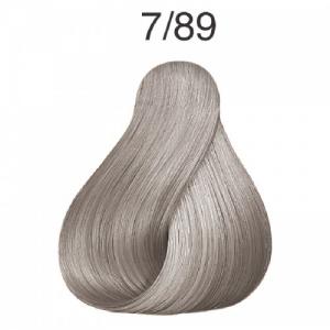 Vopsea de par semi-permanenta Wella Professionals Color Touch 7/89, Blond Mediu Albastrui Perlat, 60 ml0