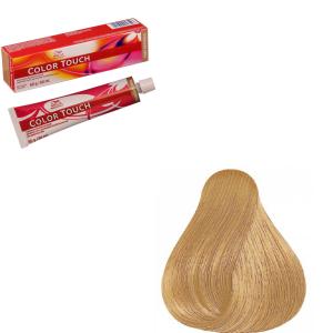 Vopsea de par semi-permanenta Wella Professionals Color Touch 9/73, Blond Luminos Castaniu Auriu, 60 ml0