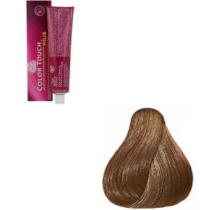 Vopsea de par semi-permanenta Wella Professionals Color Touch Plus 66/03, Blond Inchis Intens Natural Auriu, 60 ml [0]