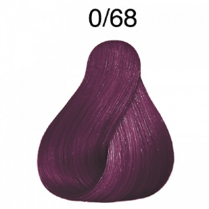 Vopsea de par semi-permanenta Wella Professionals Color Touch Special Mix 0/68, Violet Albastrui, 60 ml0