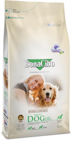 BonaCibo Adult Dog Lamb&Rice 0