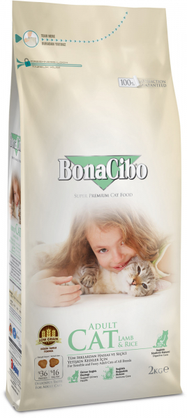 BonaCibo Cat Lamb&Rice 0