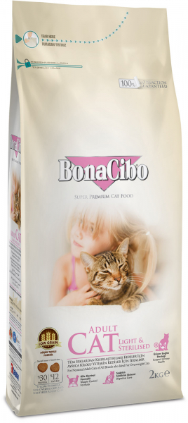 BonaCibo Cat Light&Sterilised 0