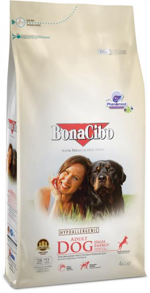 BonaCibo Adult Dog High Energy 100G 0