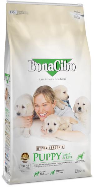 BonaCibo Puppy Lamb&Rice 100G [0]