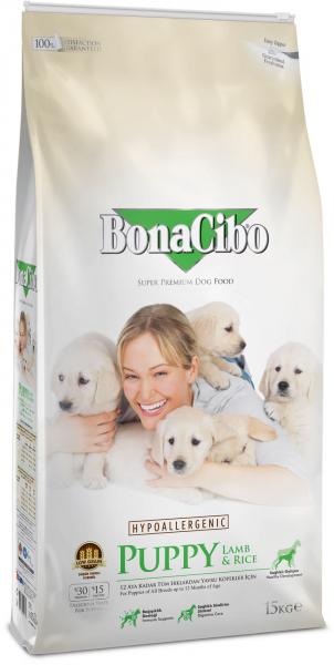 BonaCibo Puppy Lamb&Rice 0