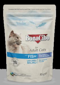 BonaCibo Adult Pisica Macrou