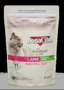 BonaCibo Adult Pisica Sterilizata Miel