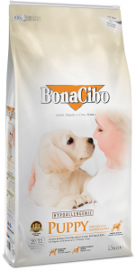 BonaCibo Puppy Chicken&Rice with Anchovy0