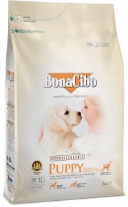 BonaCibo Puppy Chicken&Rice with Anchovy0
