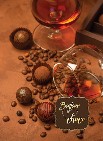 Bomboane ciocolată cu Cognac