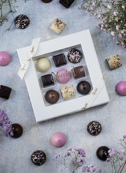 Limited Pink 9 - Selecție premium bomboane de ciocolată 80G