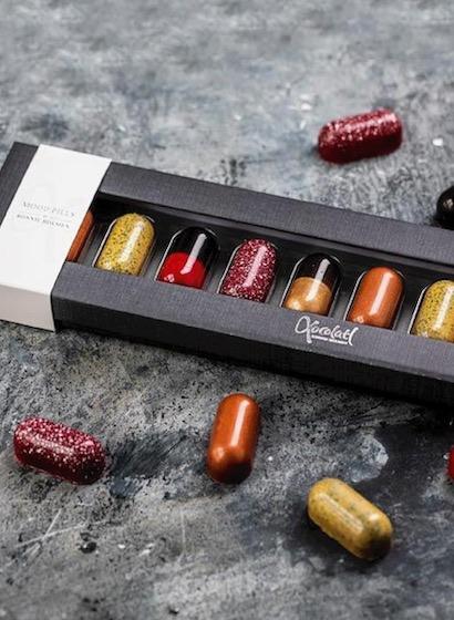Mood Pills - Pastile de ciocolată pentru bună dispoziție 100G