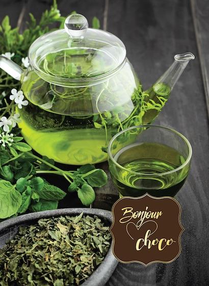 Ceai verde organic Berlingot cu zmeură și litchi