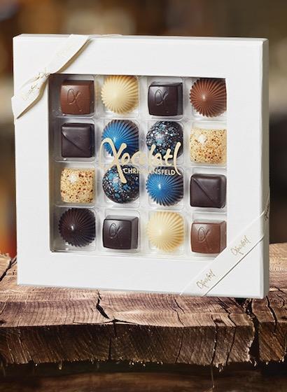 Limited Blue 16 - Selecție premium bomboane de ciocolată 140G