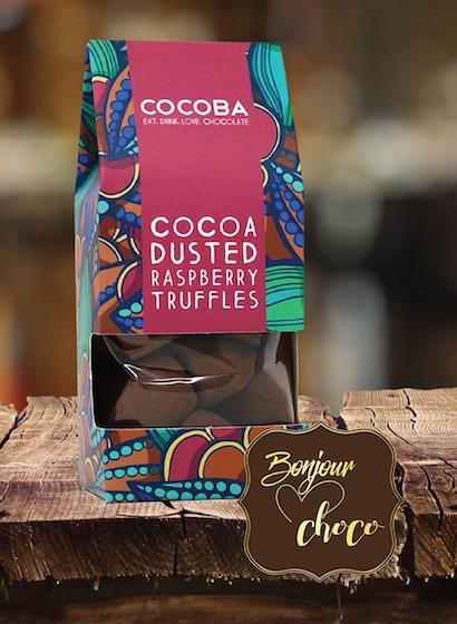 Trufe de ciocolată cu zmeură