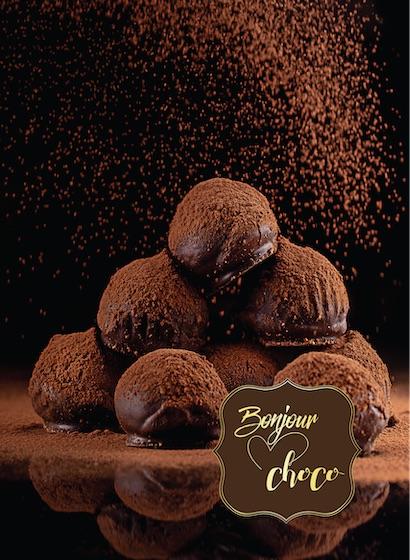 Trufe de ciocolată cu lapte și caramel sărat