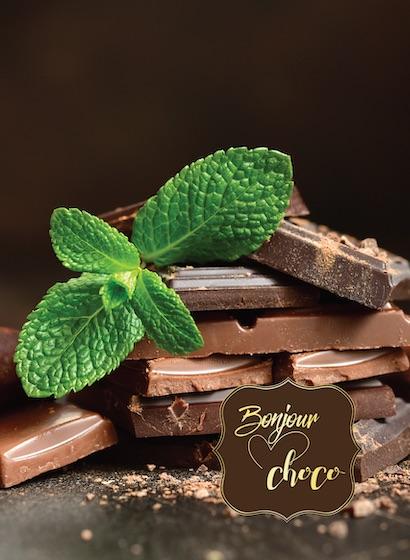 Ciocolată organică cu mentă