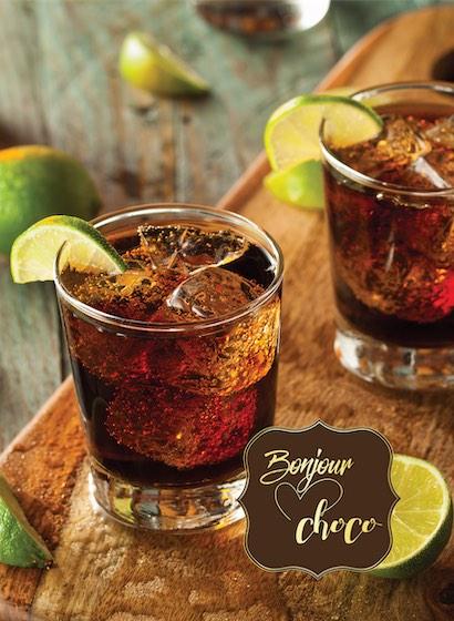 Bomboane ciocolată cocktail