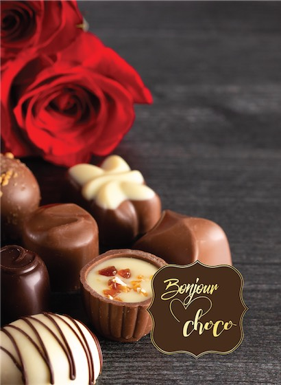 Bomboane de ciocolată cu umplutură