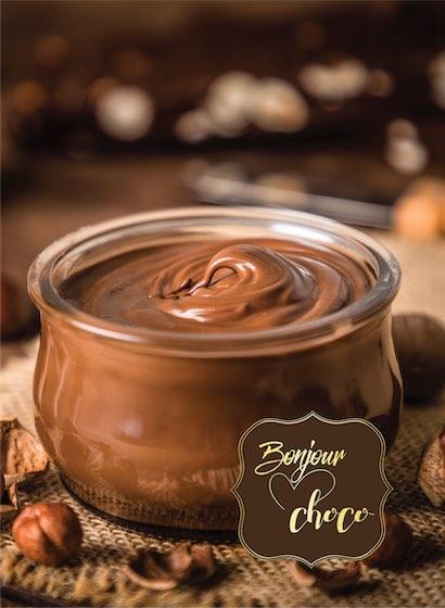 Creme de ciocolată cu lapte și alune de pădure