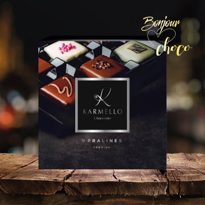 Asortiment premium 9 praline de ciocolata cu umplutura [3]