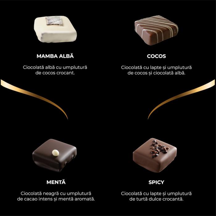 Asortiment premium 9 praline de ciocolata cu umplutura [1]