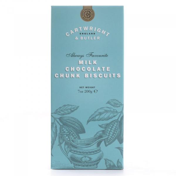 Biscuiti cu ciocolata cu lapte in cutie carton 200G [0]