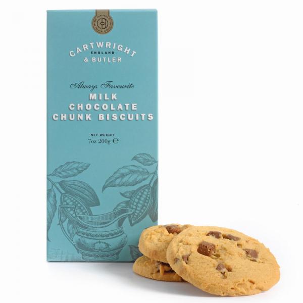 Biscuiti cu ciocolata cu lapte in cutie carton 200G [1]