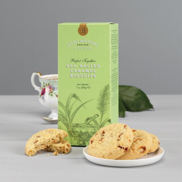 Biscuiti cu caramel sarat in cutie carton 200G [2]