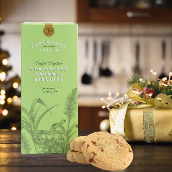 Biscuiti cu caramel sarat in cutie carton 200G [3]