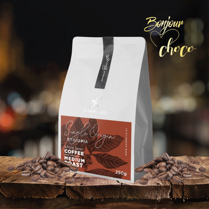 Cafea boabe Etiopia single origin 250G [1]