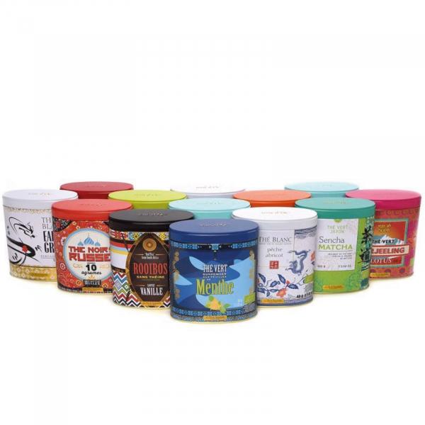 Calatoria mea in lumea ceaiului - set 4 ceaiuri organice cu infuzor 105G [3]