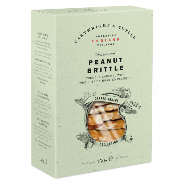 Crantanele de caramel sarat cu alune in cutie carton 150G [0]