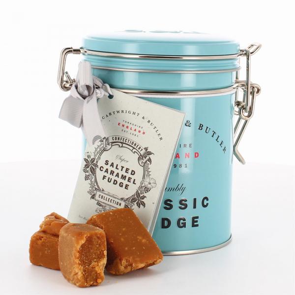 Fudge cu caramel sarat in cutie metalica 175G [1]