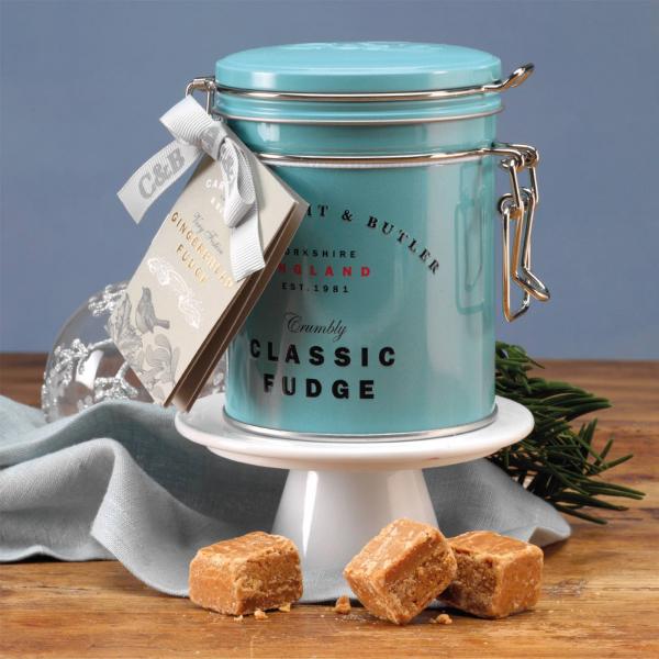 Fudge cu caramel sarat in cutie metalica 175G [3]