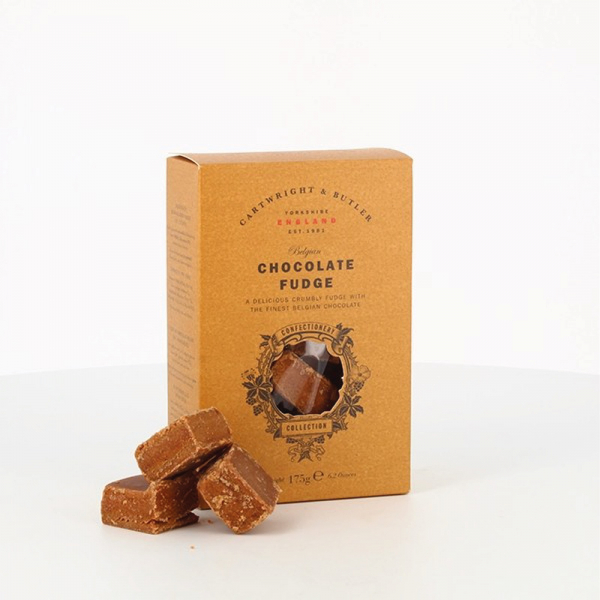 Fudge cu ciocolata belgiana in cutie carton 175G [1]