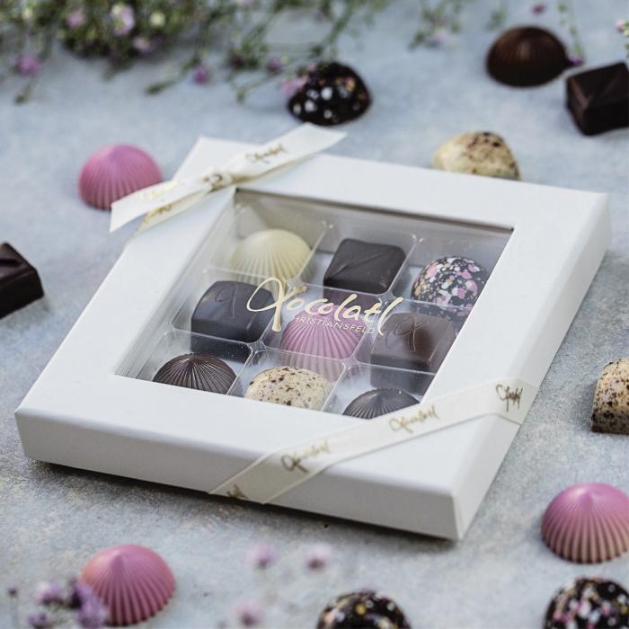 Limited Pink 9 - Selectie premium bomboane de ciocolata 80G [1]