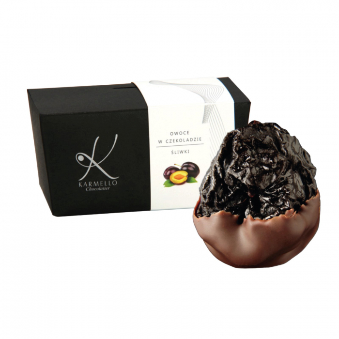 Prune invelite in ciocolata neagra 300G [0]