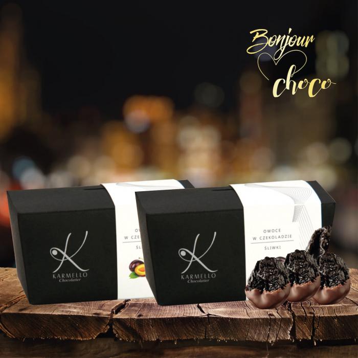 Prune invelite in ciocolata neagra 300G [1]