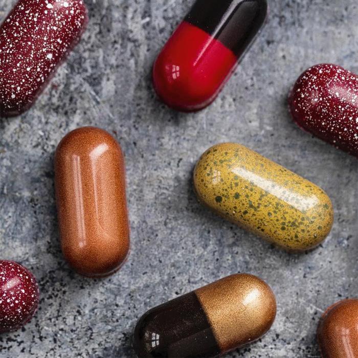 Mood Pills - Pastile de ciocolata pentru buna dispozitie 100G [4]