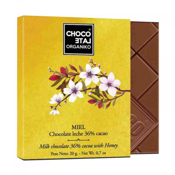 Set ciocolata organica blanco 80G [1]
