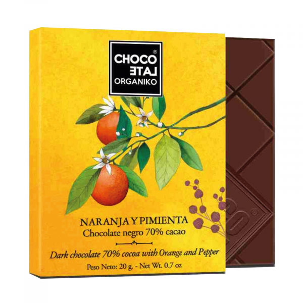 Set ciocolata organica blanco 80G [2]